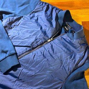Hugo Boss mens S Small blue light bomber jacket
